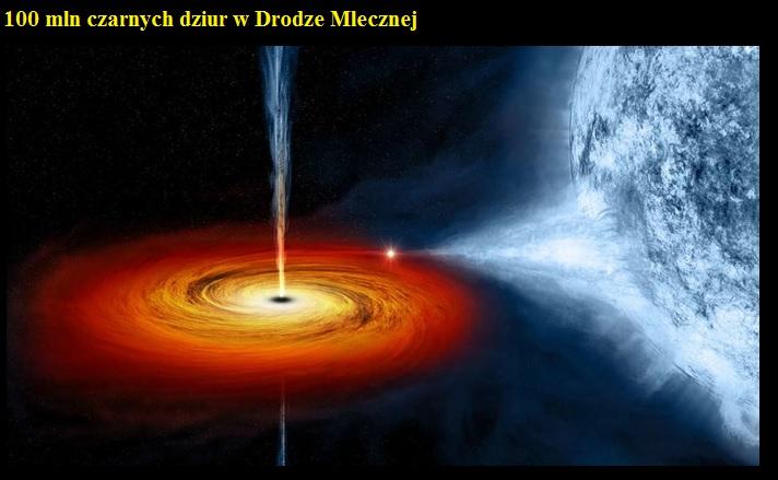 100 mln czarnych dziur w Drodze Mlecznej.jpg
