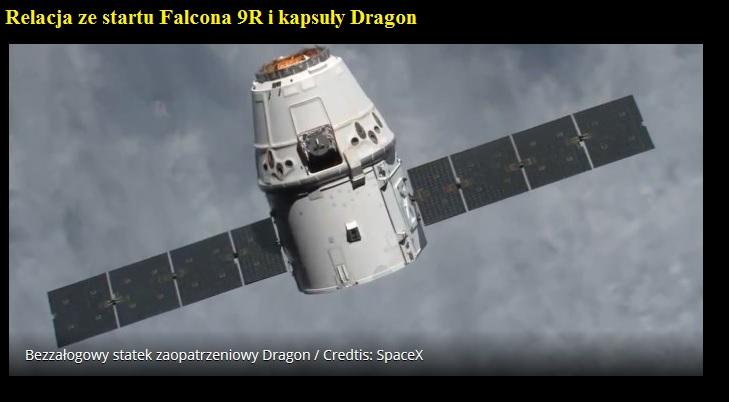 Relacja ze startu Falcona 9R i kapsuły Dragon.jpg