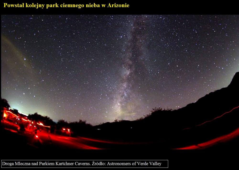 Powstał kolejny park ciemnego nieba w Arizonie.jpg
