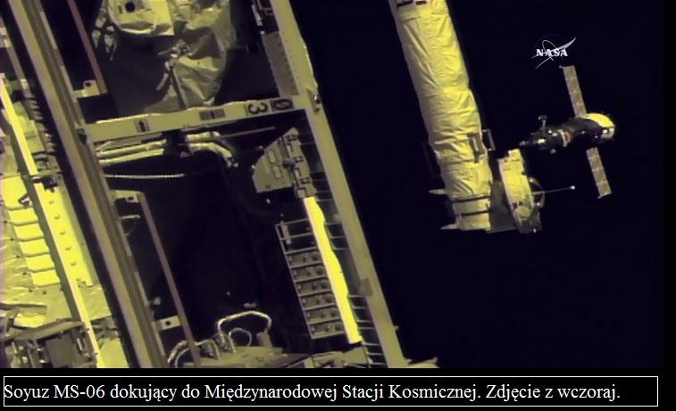 Trzech nowych astronautów na pokładzie Międzynarodowej Stacji Kosmicznej2.jpg