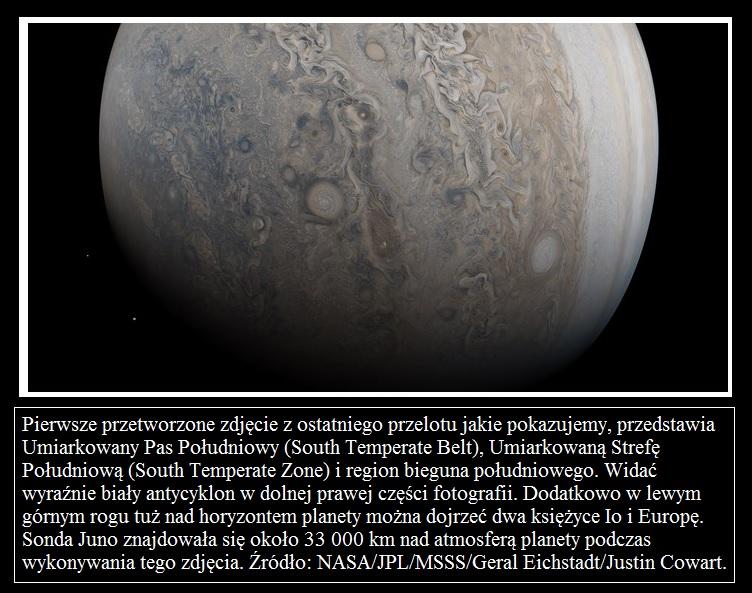 Juno wykonuje ósmy bliski przelot nad Jowiszem2.jpg
