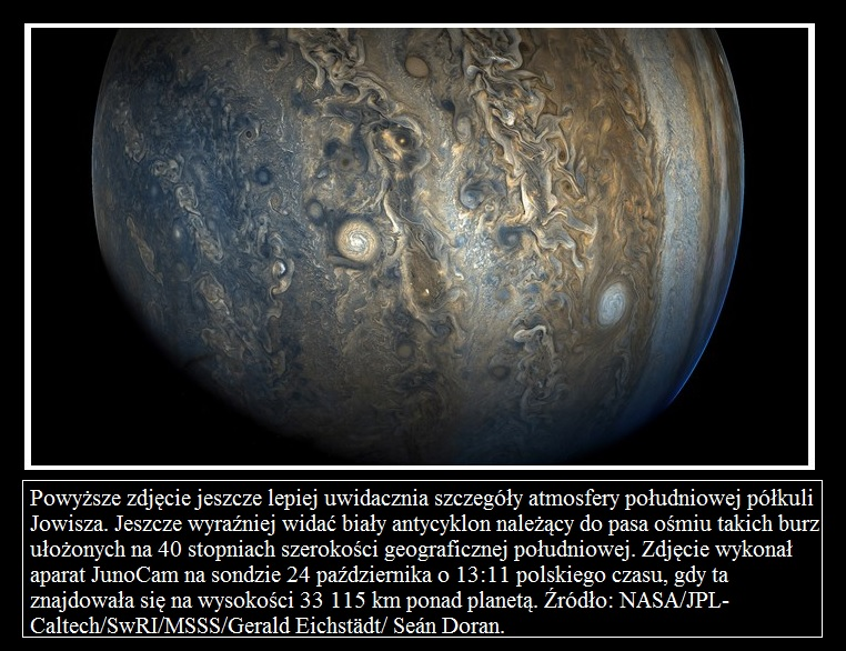 Juno wykonuje ósmy bliski przelot nad Jowiszem3.jpg