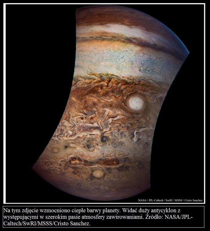 Juno wykonuje ósmy bliski przelot nad Jowiszem4.jpg
