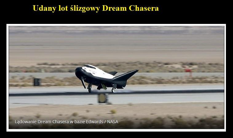 Udany lot ślizgowy Dream Chasera.jpg