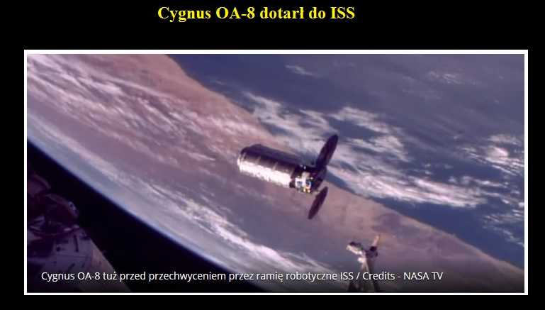 Cygnus OA-8 dotarł do ISS.jpg