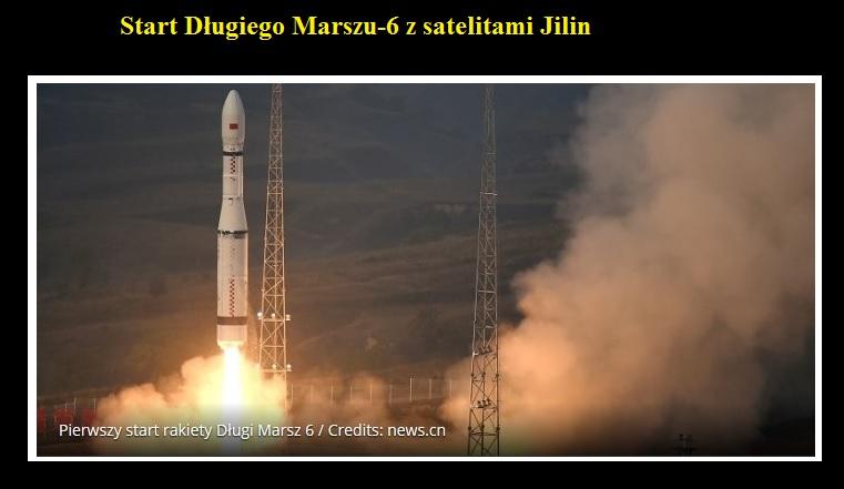 Start Długiego Marszu-6 z satelitami Jilin.jpg
