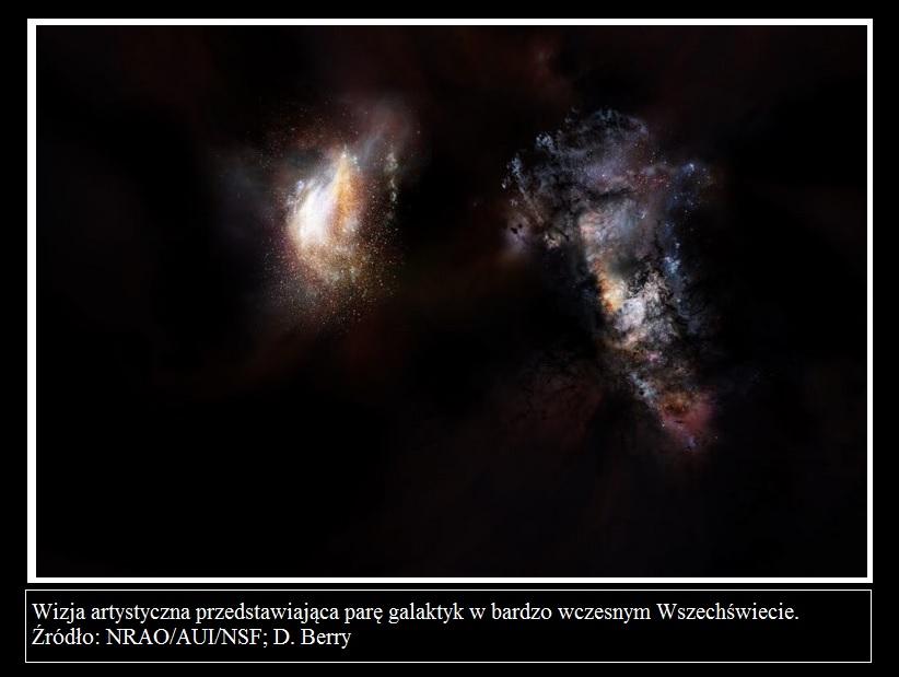 ALMA odkrywa masywne pierwotne galaktyki w potężnym oceanie ciemnej materii2.jpg