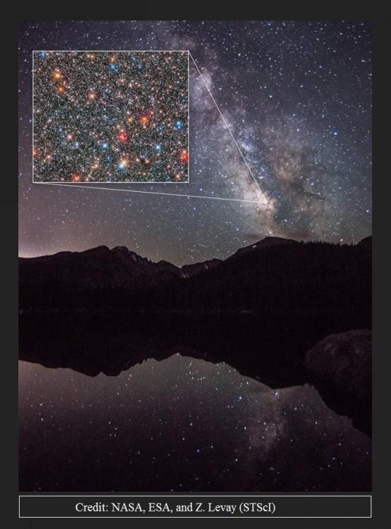 Hubble analizuje początki Drogi Mlecznej badając dynamikę gwiazd w jej centrum2.jpg