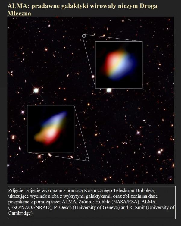 ALMA pradawne galaktyki wirowały niczym Droga Mleczna.jpg