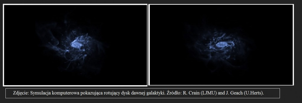 ALMA pradawne galaktyki wirowały niczym Droga Mleczna2.jpg