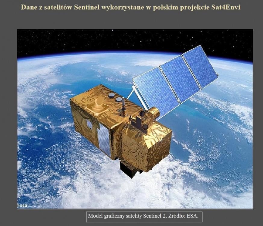 Dane z satelitów Sentinel wykorzystane w polskim projekcie Sat4Envi.jpg