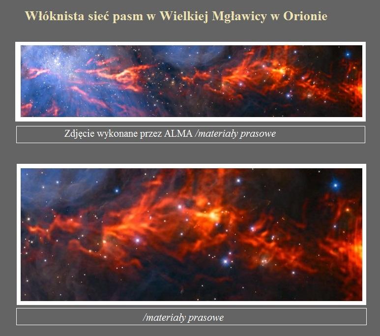 Włóknista sieć pasm w Wielkiej Mgławicy w Orionie.jpg