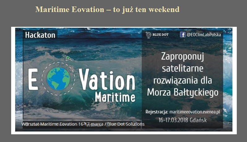 Maritime Eovation – to już ten weekend.jpg