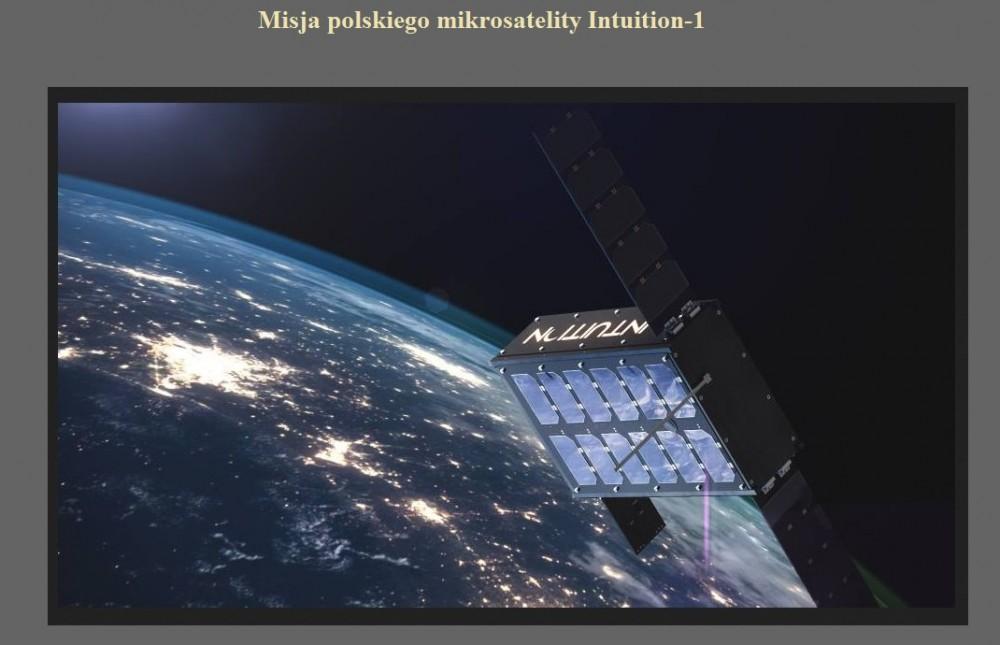 Misja polskiego mikrosatelity Intuition-1.jpg