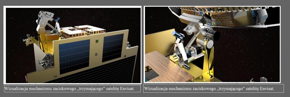 Olbrzymi kosmiczny śmieć  zostanie uprzątnięty przy pomocy mechanizmu zaciskowego SENER Polska2.jpg