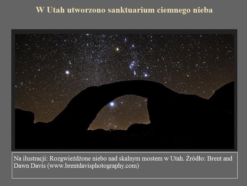 W Utah utworzono sanktuarium ciemnego nieba.jpg