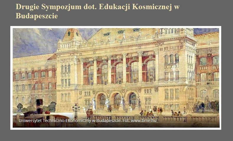 Drugie Sympozjum dot. Edukacji Kosmicznej w Budapeszcie.jpg