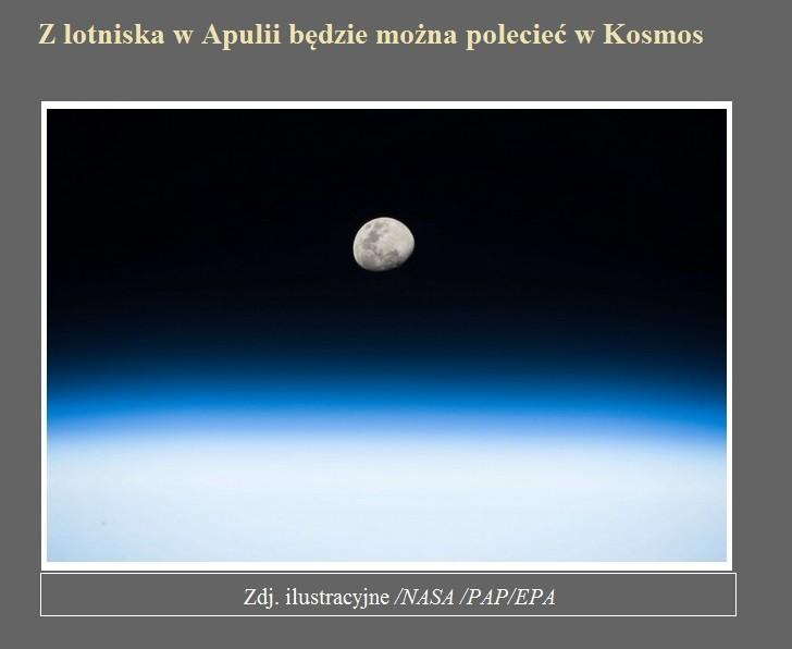 Z lotniska w Apulii będzie można polecieć w Kosmos.jpg