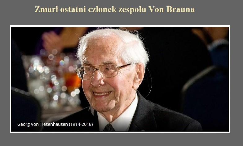 Zmarł ostatni członek zespołu Von Brauna.jpg