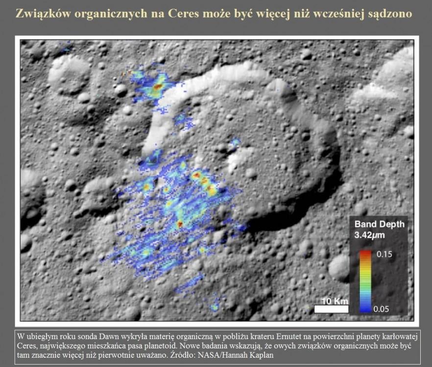 Związków organicznych na Ceres może być więcej niż wcześniej sądzono.jpg