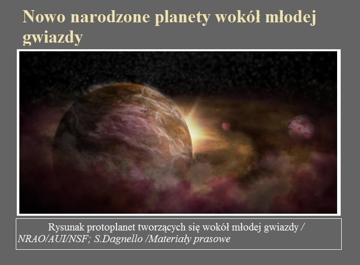 Nowo narodzone planety wokół młodej gwiazdy.jpg