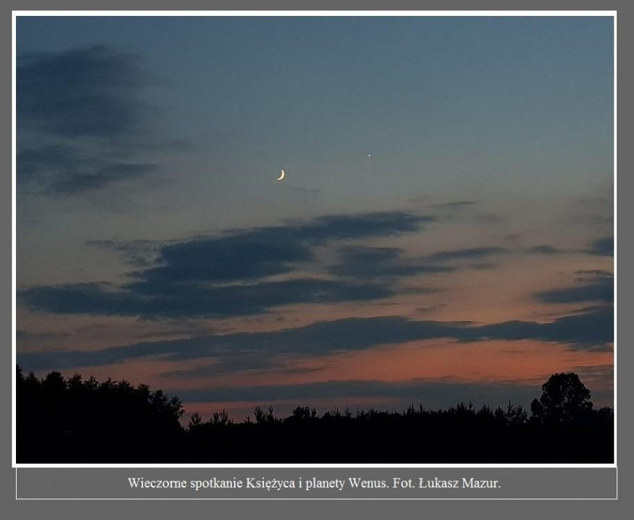 Wieczorem doszło do romantycznego spotkania Księżyca i planety Wenus. Zobaczcie zdjęcia od czytelników4.jpg
