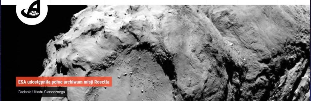 ESA udostępniła pełne archiwum misji Rosetta.jpg