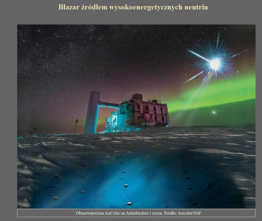 Blazar źródłem wysokoenergetycznych neutrin.jpg