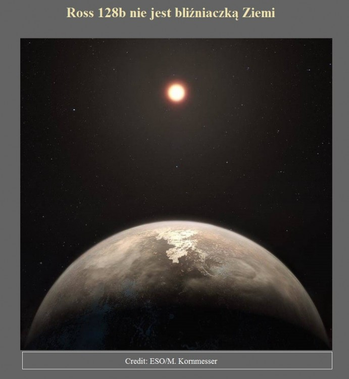 Ross 128b nie jest bliźniaczką Ziemi.jpg