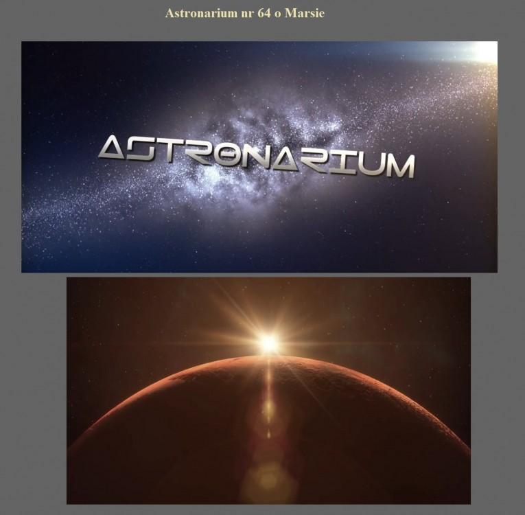 Astronarium nr 64 o Marsie.jpg