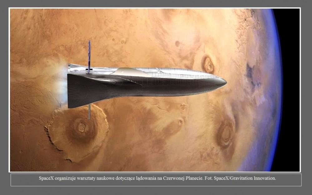 SpaceX organizuje warsztaty naukowe dotyczące lądowania na Czerwonej Planecie2.jpg