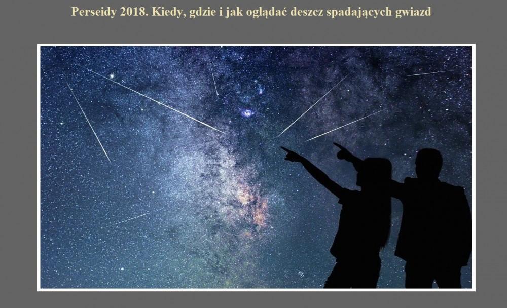 Perseidy 2018. Kiedy, gdzie i jak oglądać deszcz spadających gwiazd.jpg