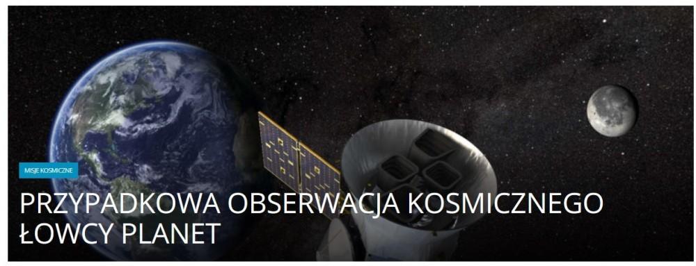 Przypadkowa obserwacja kosmicznego łowcy planet .jpg