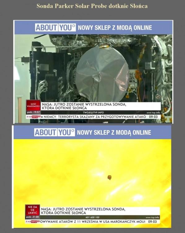 Sonda Parker Solar Probe dotknie Słońca.jpg