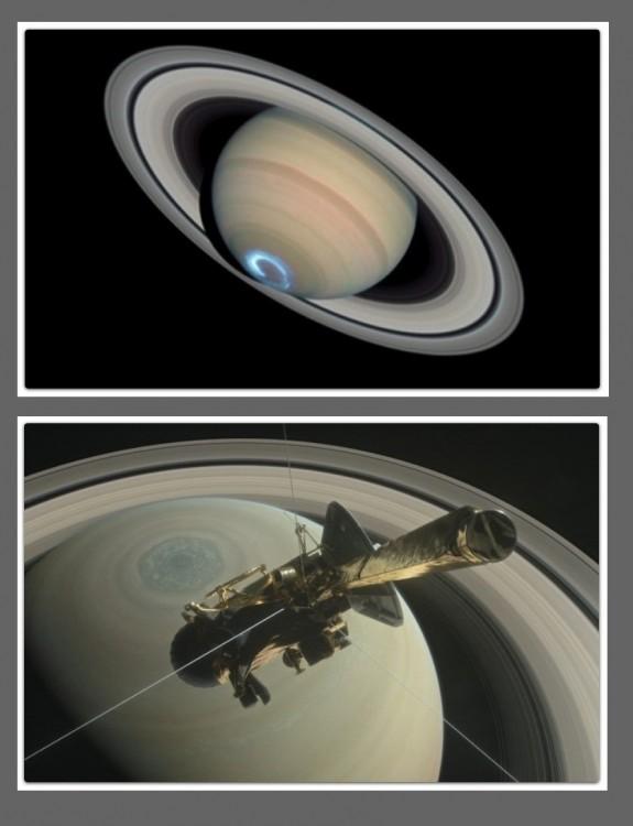 Ostatnie dane sondy Cassini wskazują, że pierścienie Saturna mogą wkrótce zniknąć2.jpg