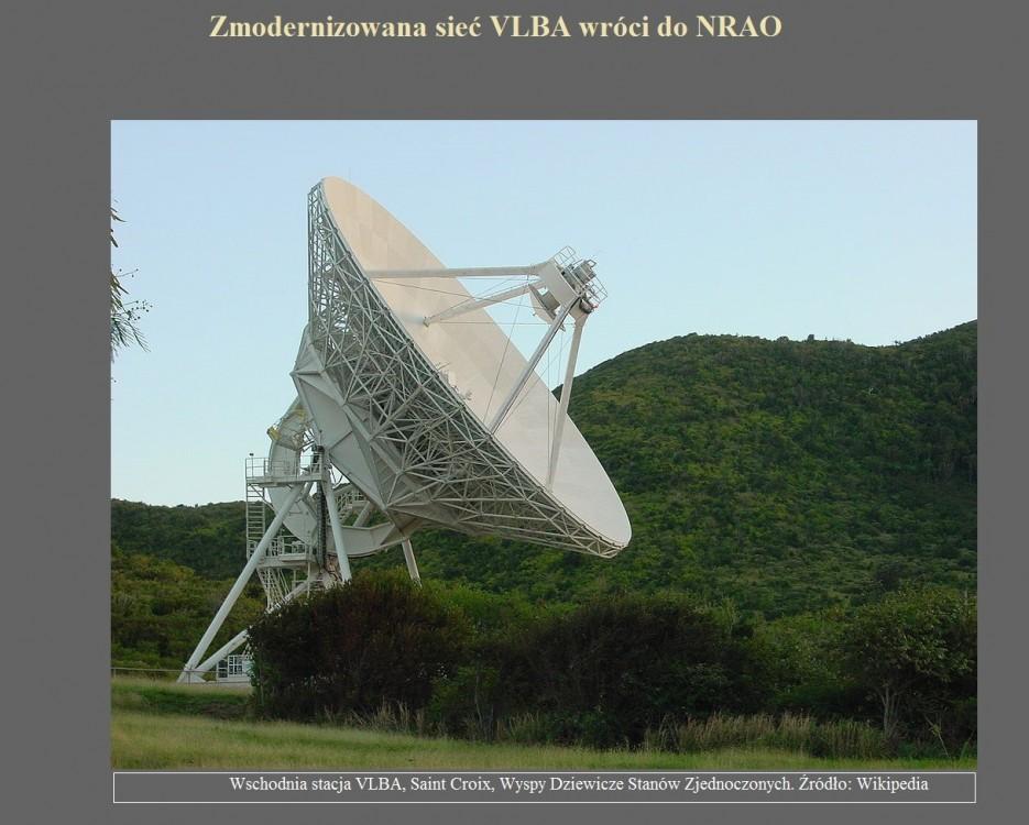 Zmodernizowana sieć VLBA wróci do NRAO.jpg