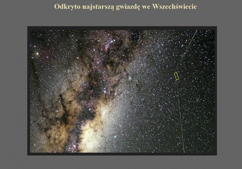 Odkryto najstarszą gwiazdę we Wszechświecie.jpg