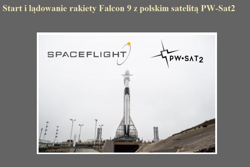 Start i lądowanie rakiety Falcon 9 z polskim satelitą PW-Sat2.jpg