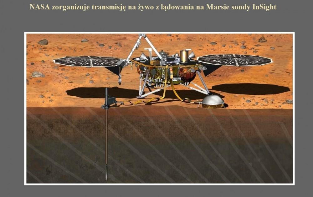 NASA zorganizuje transmisję na żywo z lądowania na Marsie sondy InSight.jpg