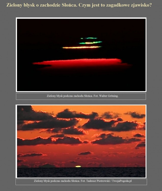 Zielony błysk o zachodzie Słońca. Czym jest to zagadkowe zjawisko.jpg
