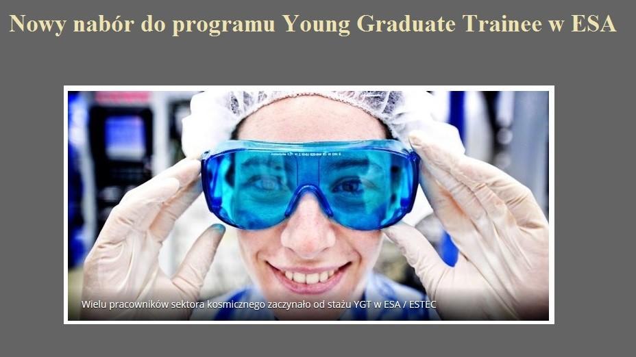 Nowy nabór do programu Young Graduate Trainee w ESA.jpg