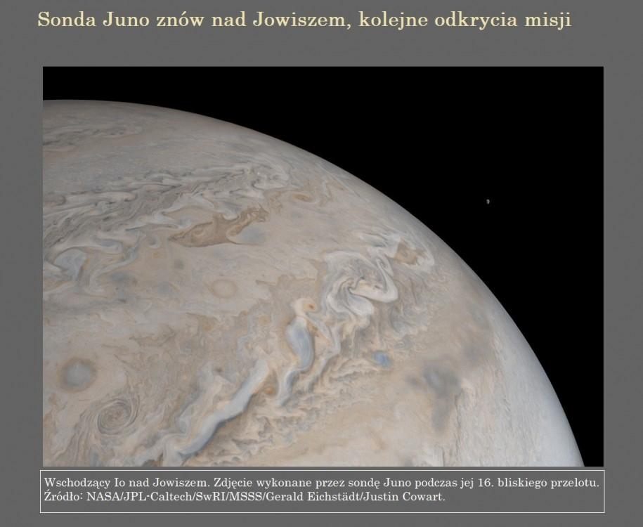 Sonda Juno znów nad Jowiszem, kolejne odkrycia misji.jpg