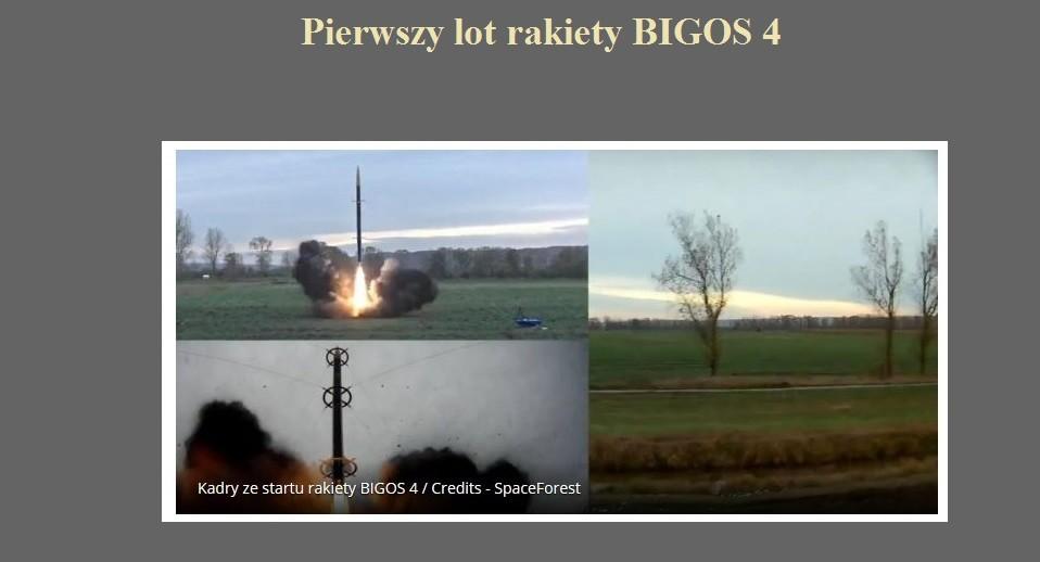 Pierwszy lot rakiety BIGOS 4.jpg