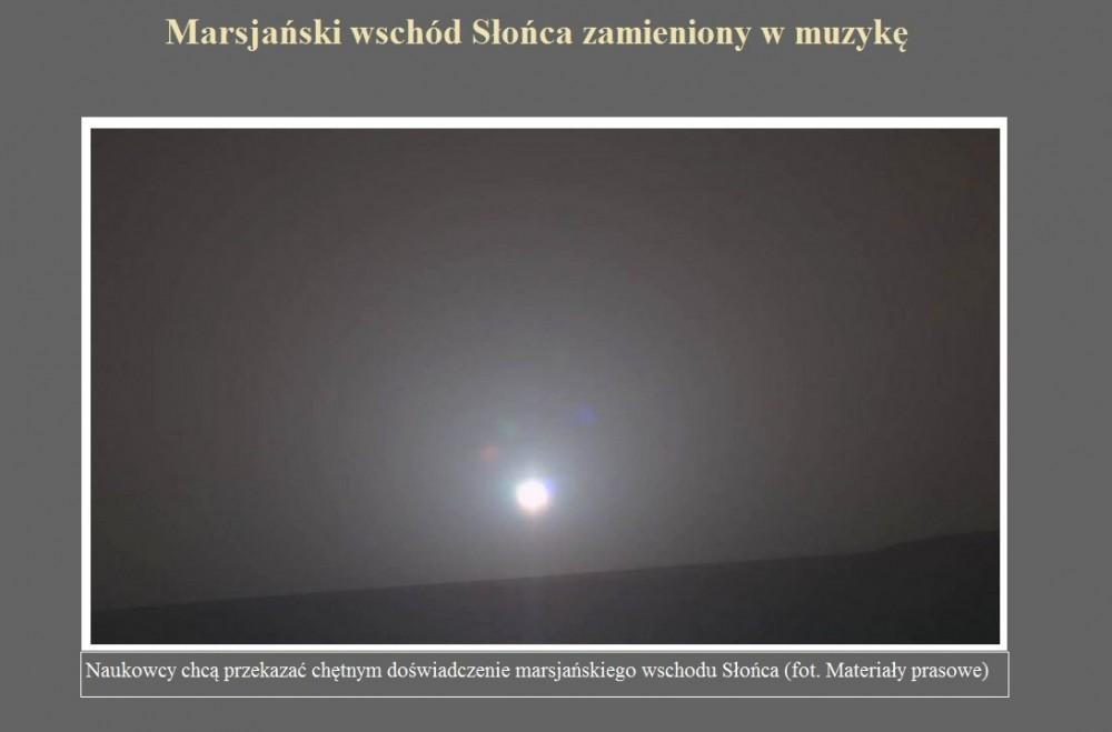 Marsjański wschód Słońca zamieniony w muzykę.jpg