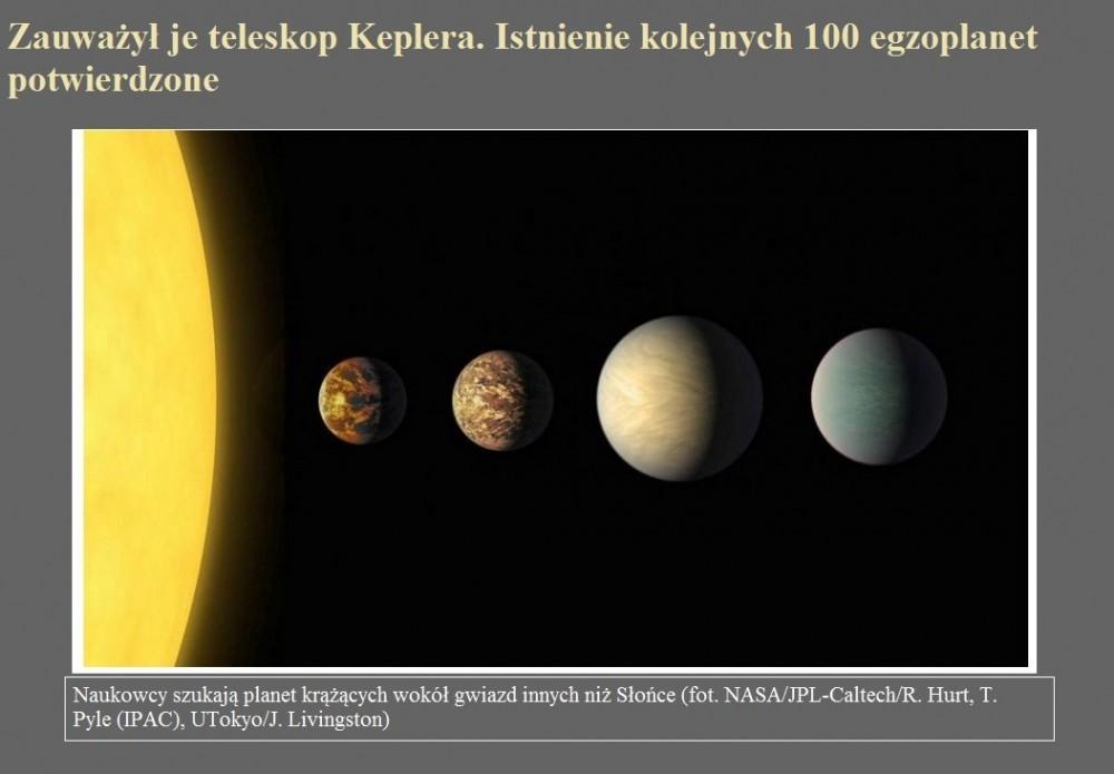 Zauważył je teleskop Keplera. Istnienie kolejnych 100 egzoplanet potwierdzone.jpg