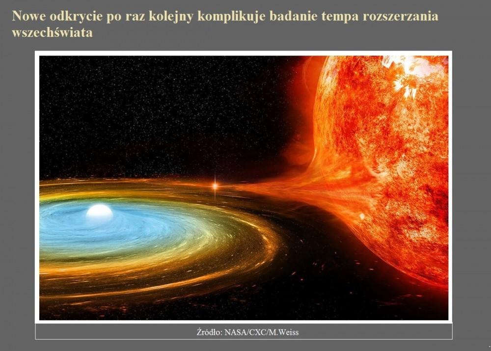 Nowe odkrycie po raz kolejny komplikuje badanie tempa rozszerzania wszechświata.jpg