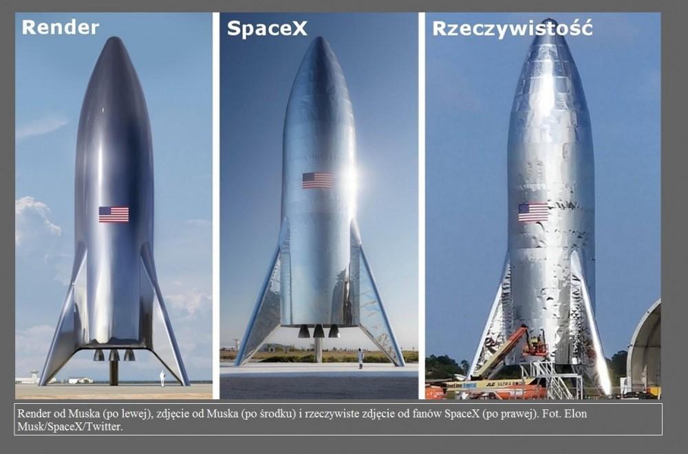 SpaceX ukończyło Starhoppera. Elon Musk pokazał prototyp statku Starship na zdjęciu2.jpg