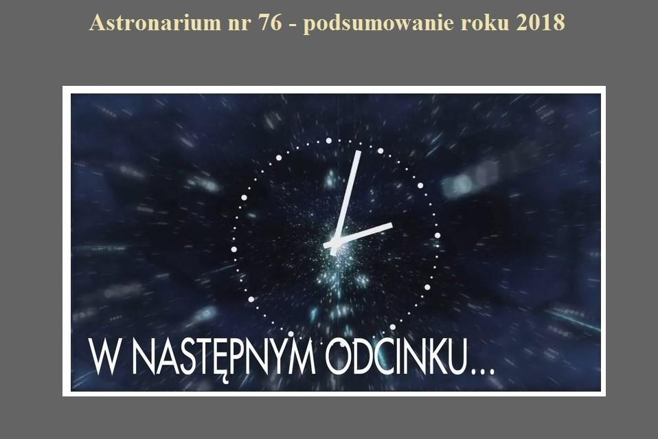 Astronarium nr 76 - podsumowanie roku 2018.jpg