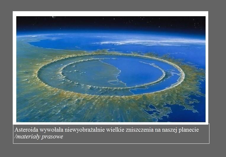 Asteroida, która zabiła dinozaury, wywołała wielką falę tsunami na wszystkich oceanach świata2.jpg