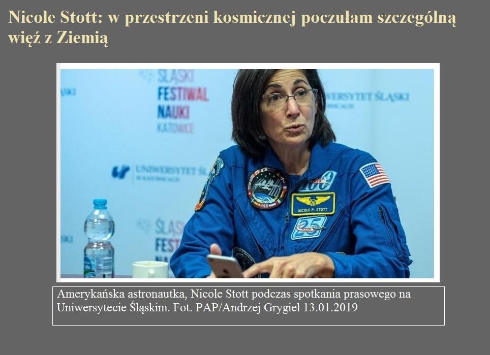 Nicole Stott w przestrzeni kosmicznej poczułam szczególną więź z Ziemią.jpg